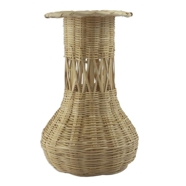 Natural Beauty Reed Basket (Guatemala)