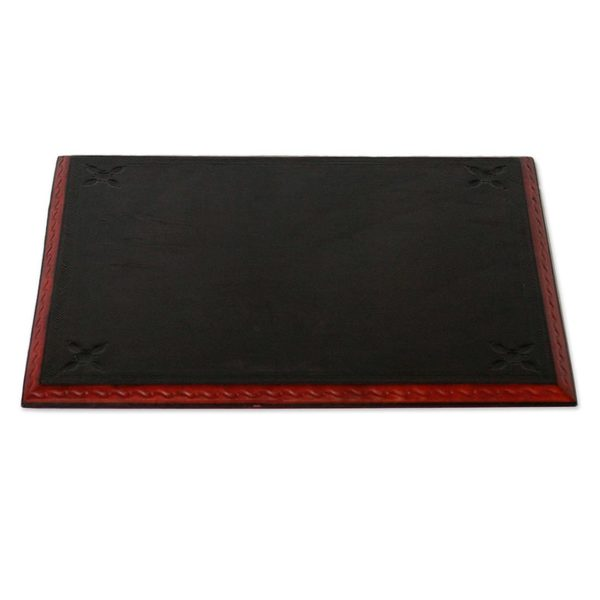 Message from Africa Leather Desk Pad (Ghana)