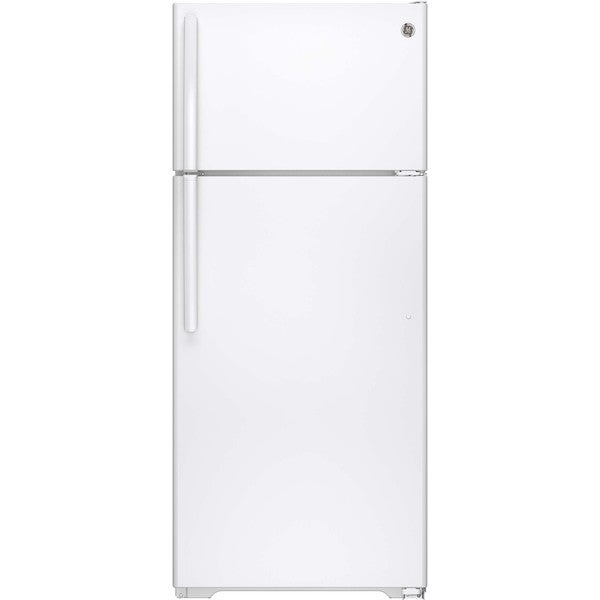 GE Energy Star 17.5 Cubic-foot White Top-freezer Refrigerator