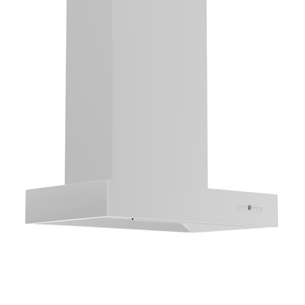 ZLINE 42 in. 1200 CFM Professional Wall Mount Range Hood in Stainless Steel (KECOM-42) 21846515
