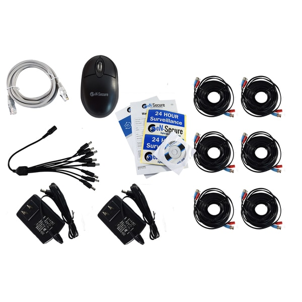 eN-Secure 8-channel DVR CCTV 6 Camera Kit