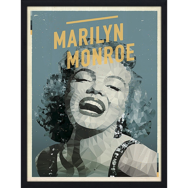 "American Flat ""Marilyn Monroe"" Framed Wall Art"