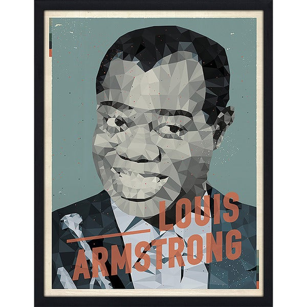 "American Flat ""Louis Armstrong"" Framed Wall Art"