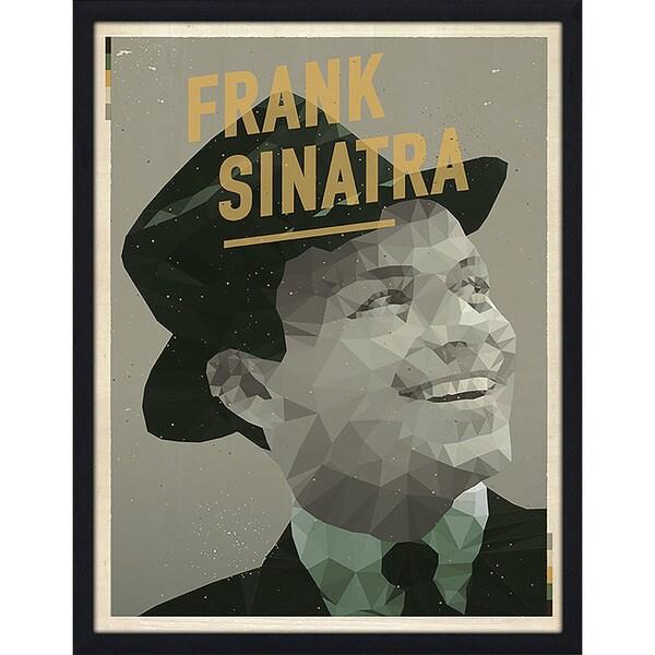 "American Flat ""Frank Sinatra"" Framed Wall Art"