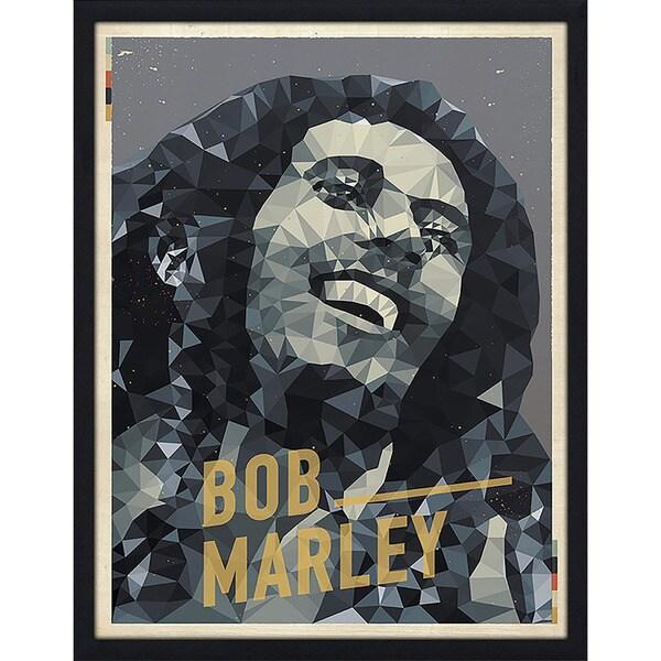 """American Flat """"Bob Marley"""" Framed Wall Art"""