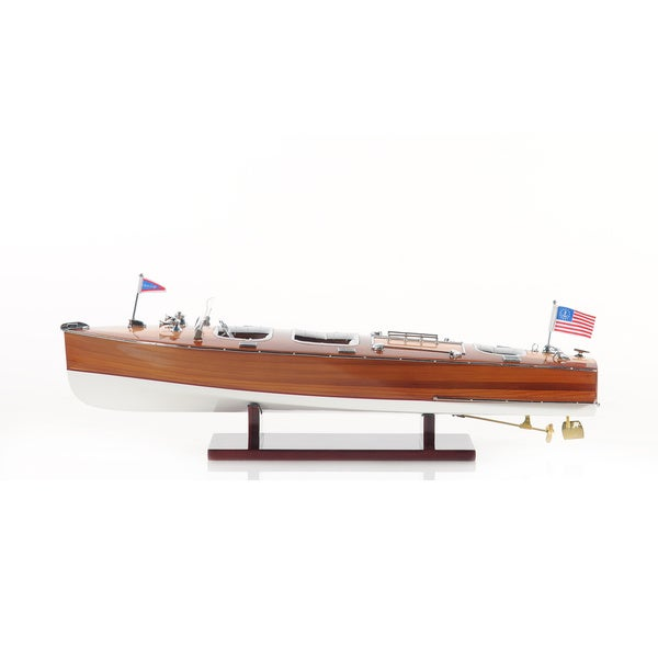 Chris Craft Triple Cockpit Boat Figurine