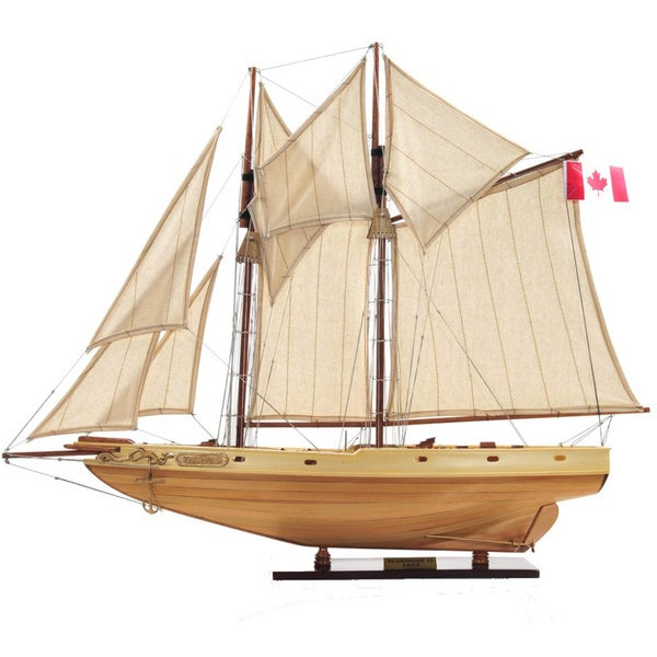 Bluenose II Fully Assembled