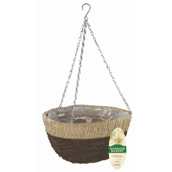 Gardman R231 Natural Hanging Basket