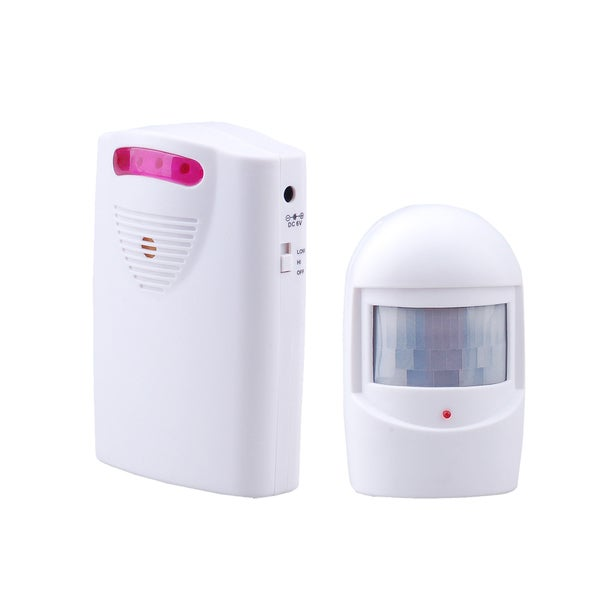 Sontax Blue Wireless Security Motion Detector Alert System