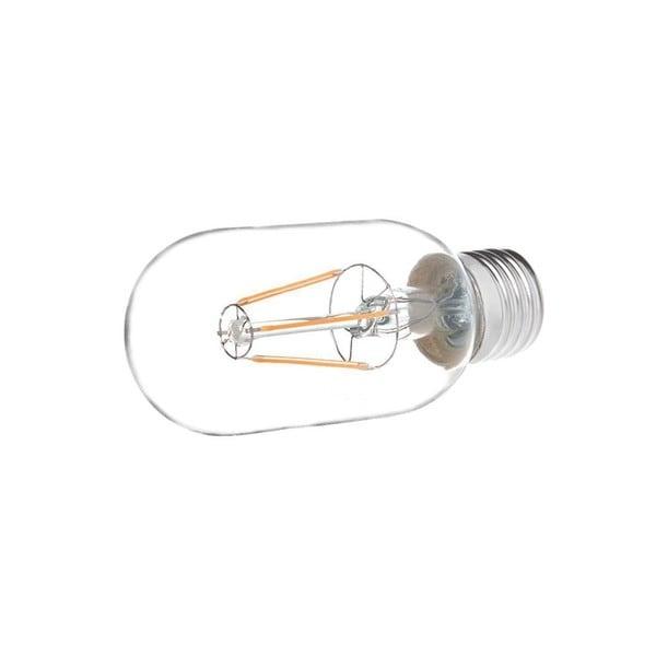 Edison-style Cool White Glow Clear Glass 110V 4-watt LED Bulb Filament Light