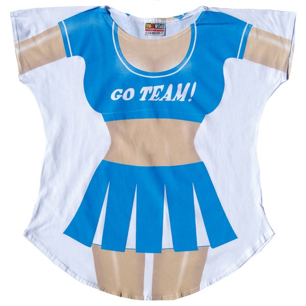 Fantasy Go Team Cheerleader Swimsuit Cover-up