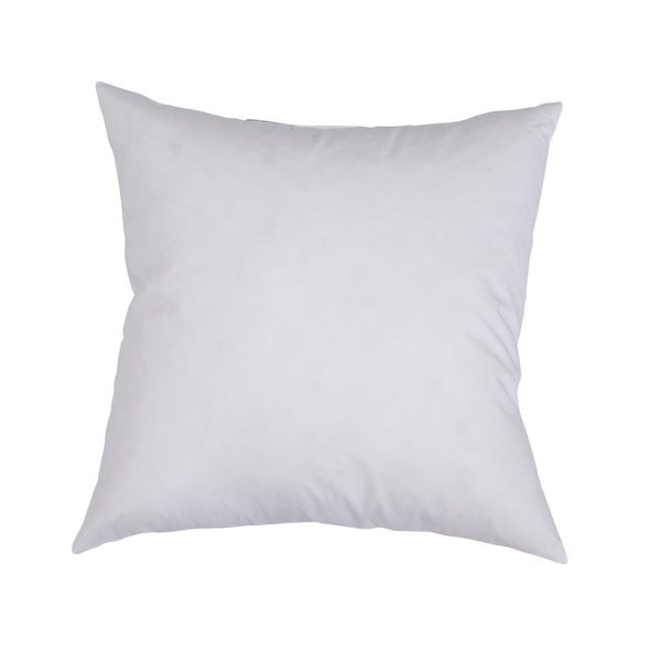 Downlite Feather and Down Decorator Euro Square Throw Pillow Insert 18x18(As Is Item) 21863147