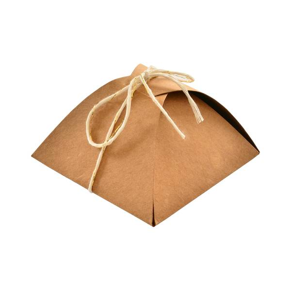 Kraft and Twine Brown Paper Favor Box (Case of 40)