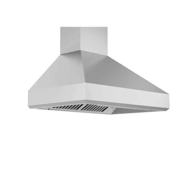 ZLINE 30 in. 900 CFM Wall Mount Range Hood in Stainless Steel (477-30)