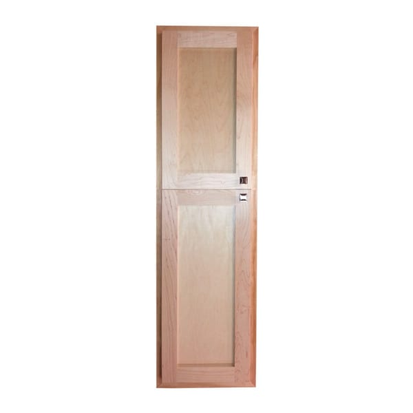 Wg Wood Products Unfinished Wood 66 Inch Recessed Gay Times