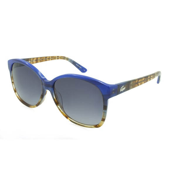 Lacoste L701S-424 Oversized Blue Sunglasses