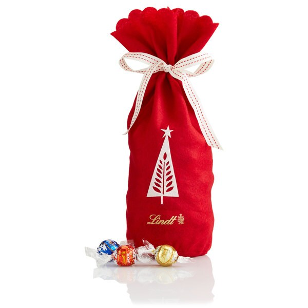 Lindt Lindor Christmas Tree Gift Bag Chocolate Truffles
