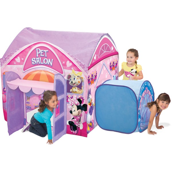 Minnie Mouse Multicolored Pet Salon Play Tent