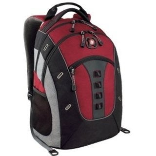 SwissGear Granite Red 16-Inch Laptop Backpack