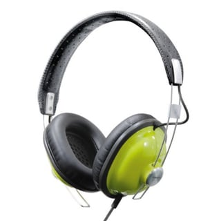 Panasonic Retro Best in Class Over-the-Ear Stereo Headphones RP-HTX7-G1 (Green)