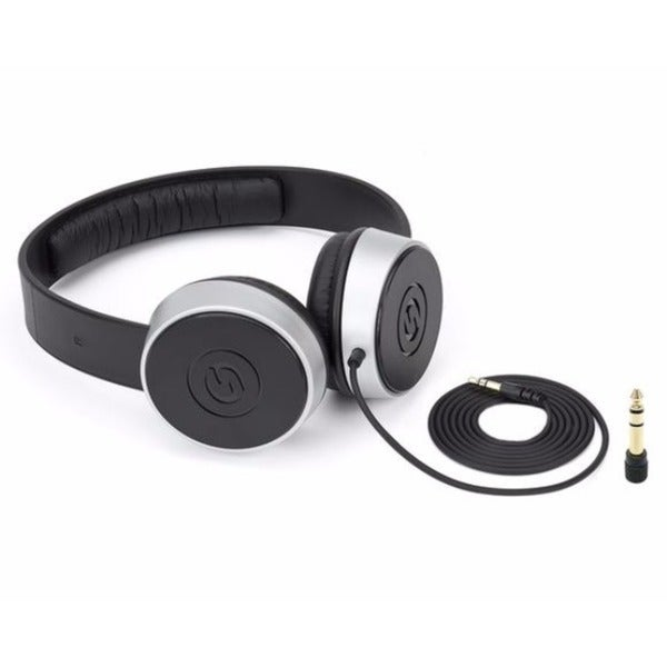 Samson Technologies SR450 Closed-Back On Ear Studio Headphones Black