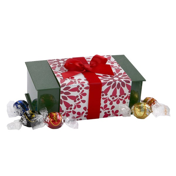 Lindt Lindor Chocolate Truffles Holiday Keepsake Tin