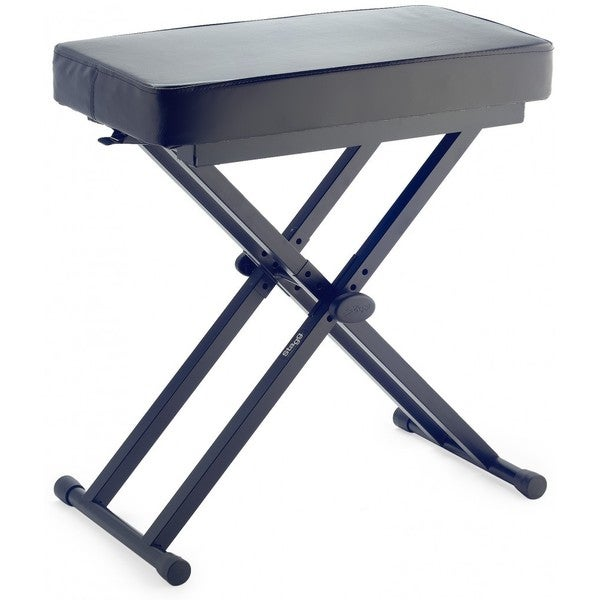 Stagg KEB-A60 Adjustable Keyboard Bench with Folding Legs