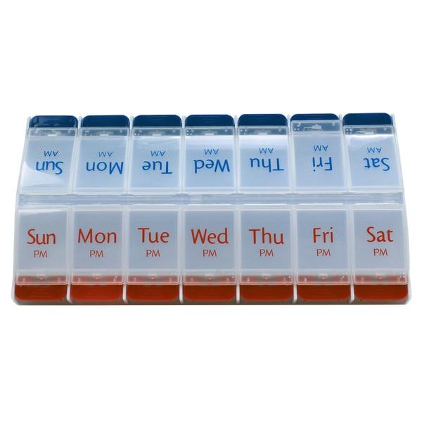 14-day AM/PM Pill Dispenser Reminder