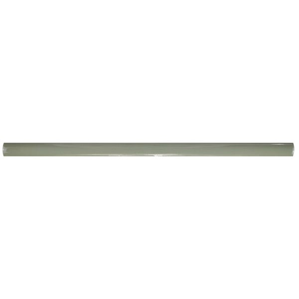 SomerTile 0.5x12-inch Gloucester Sage Demi-Bullnose Ceramic Wall Trim Tile (5/Pack, 0.21 sqft.) 21868813