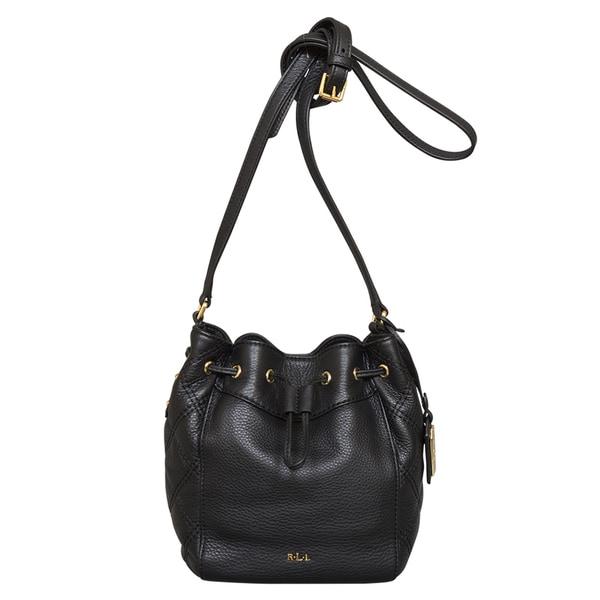 Ralph Lauren Grafton Cara Drawstring Mini Bag