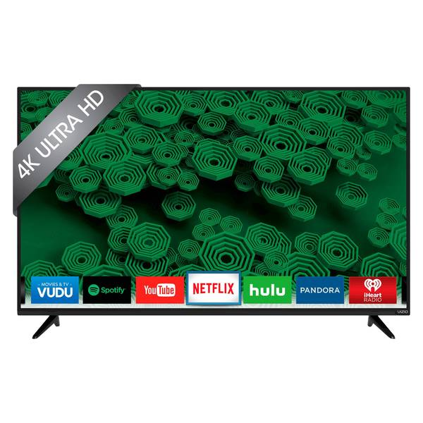 VIZIO D-Series 55-inch 4K Full-Array LED TV in Black (Refurbished)