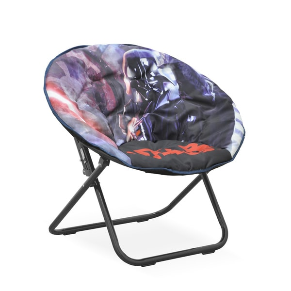 Star Wars Multicolored Polyester/Metal Kids Saucer Chair 21900332