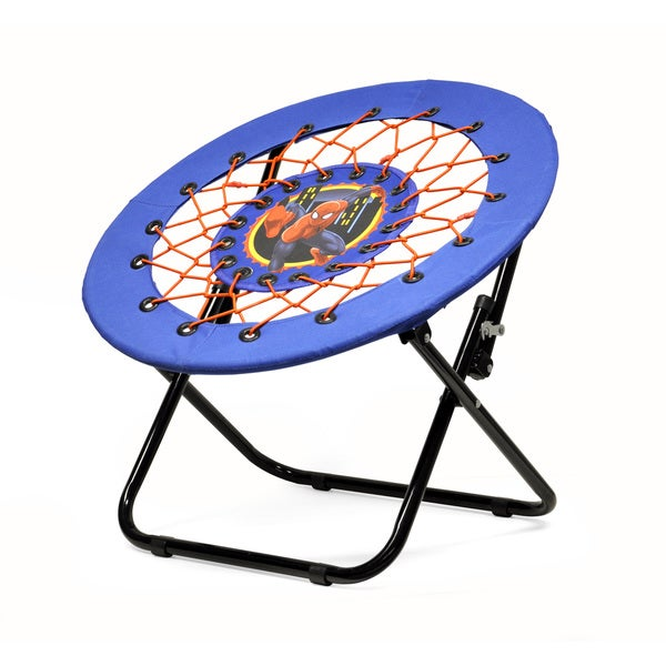 Spider-Man Web Blue and Red Microfiber Kids' Chair