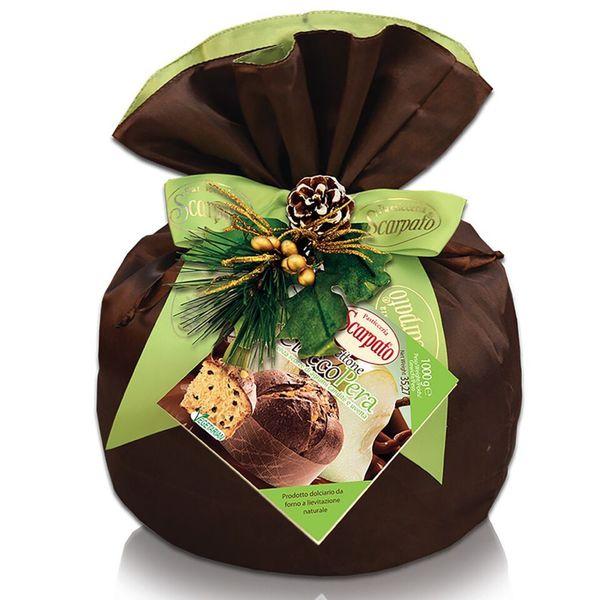 igourmet Scarpato Panettone Ciocco Pera - 1 Kilo