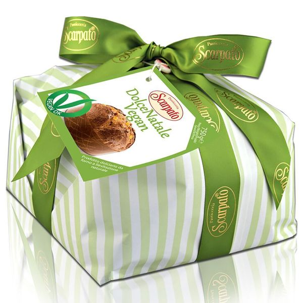 igourmet Scarpato Dolce Natale Vegan Panettone - 750 Gram