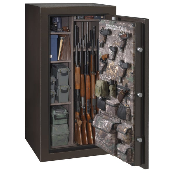 Stack-On Brown Hammertone 36-40 Gun Cabinet 21902097