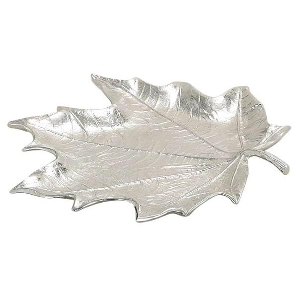 Elegance Maple Leaf Plate