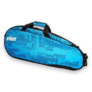 Prince Club Unisex Blue and Black Polyester 3-pack Tennis Bag