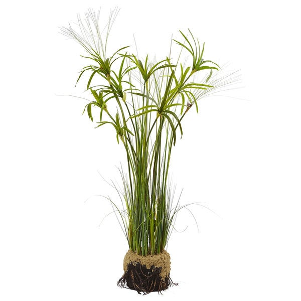 Nearly Natural Artificial Papyrus Plant