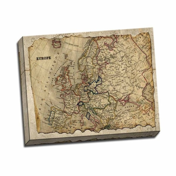 Picture It on Canvas 'Europe' 16 x 20 Wrapped Canvas Wall Art