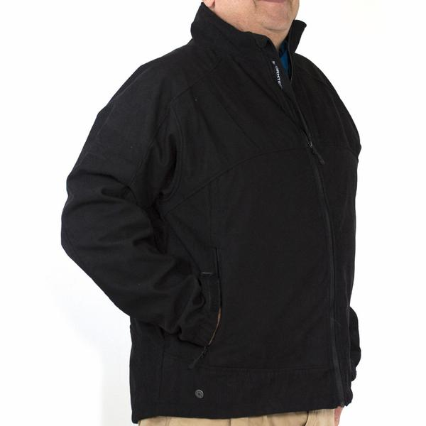 Stormtech Men's H2XTREME BTX-2 Black Corduroy Waterproof Jacket