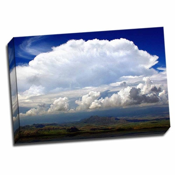 Picture It on Canvas 'Sunday Morning Storm' 24-inch x 16-inch Wrapped Canvas