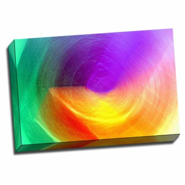 Picture It on Canvas 'Bending the Beam' 16-inch x 24-inch Wrapped Canvas Wall Art