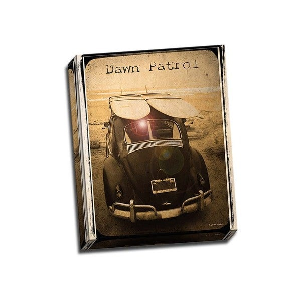 Picture It on Canvas 'Dawn Patrol' Wrapped Canvas