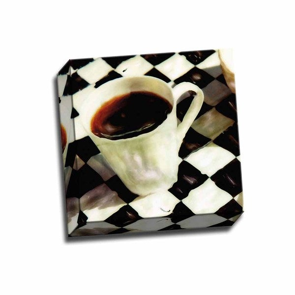 Picture It on Canvas 'A Little Cup of Joe' Gallery-wrapped Canvas Wall Art