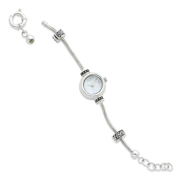 Reflections Sterling Silver Adjustable Watch Bracelet Bead Starter
