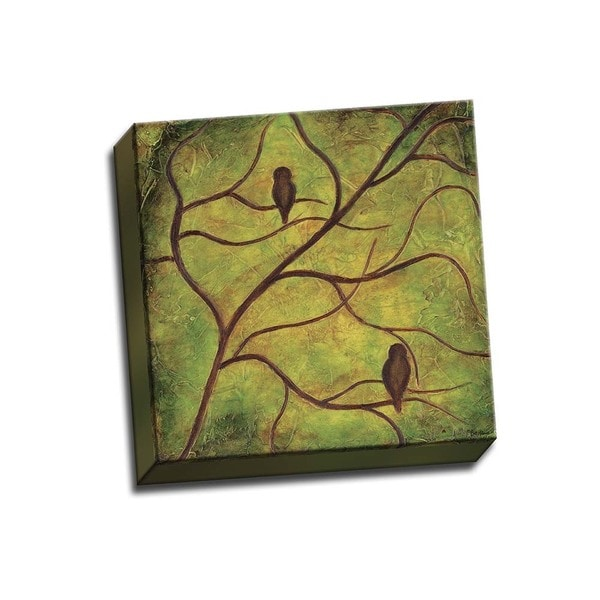 Picture It on Canvas 'Sleep Hallow Silhouettes' Gallery-wrapped Canvas Wall Art