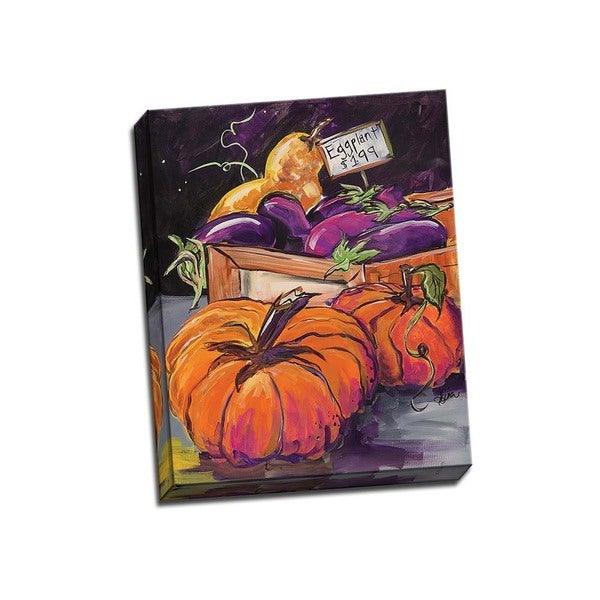 Picture It on Canvas 'Fall Vegetables' 16-inch x 20-inch Wrapped Canvas