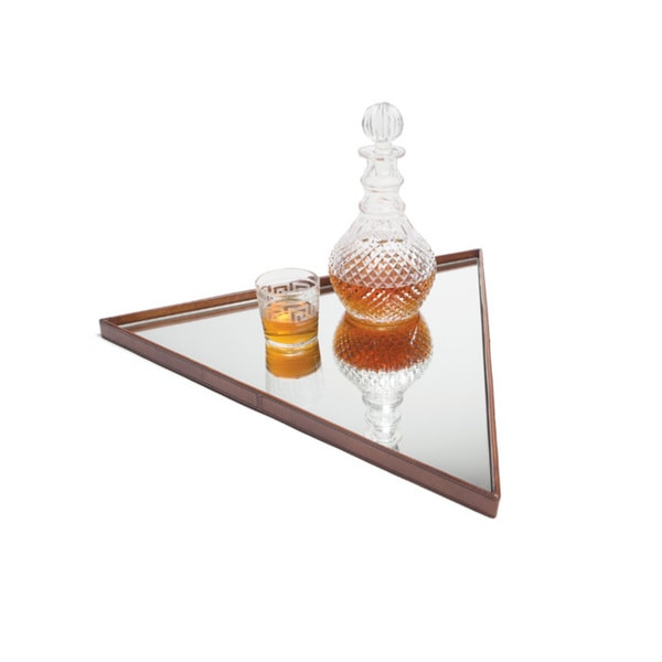 Hip Vintage Isosceles Leather Tray