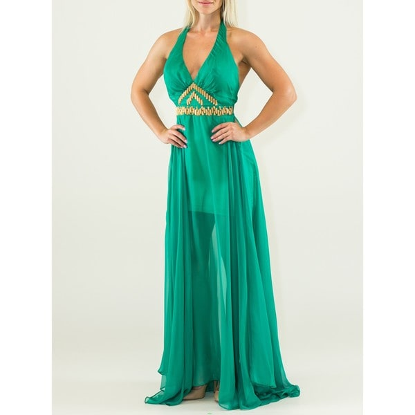 Fancy Green Dress